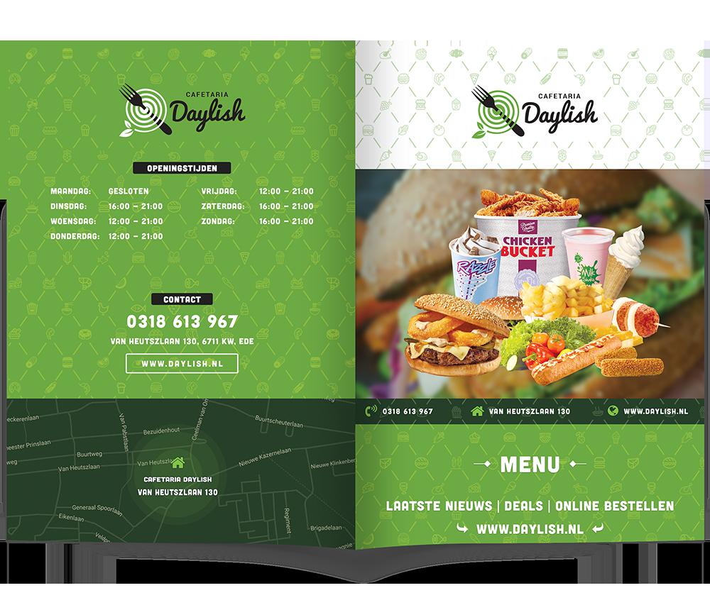 Bekijk online het menu van Daylish